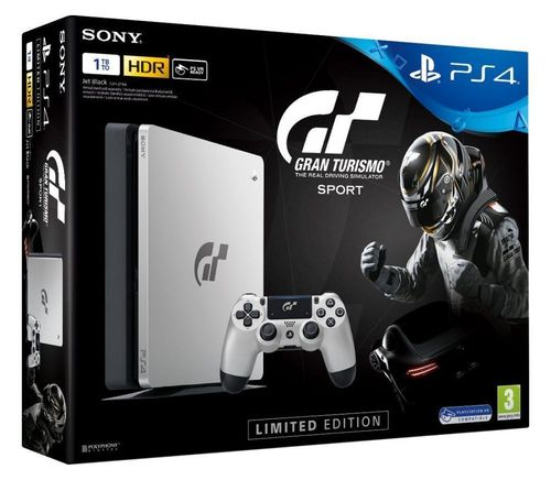PlayStation 4 1TB GT Sport Limited Edition PS4 Gran Turismo Limited Edition