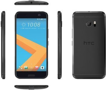 HTC 10 carbon grey Android 6.0 Smartphone - ohne Branding - ohne Simlock