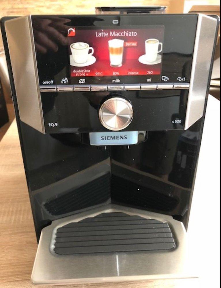 Siemens Ti915539de Eq 9 S500 Kaffee Vollautomatschwarz Edv Direkt24