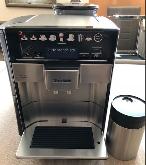 Siemens Te657f03de Eq 6 Plus Extraklasse S700 Kaffeevollautomat
