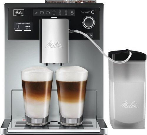 Melitta Caffeo CI E 970-101, Kaffeevollautomat, One-Touch-Funktion