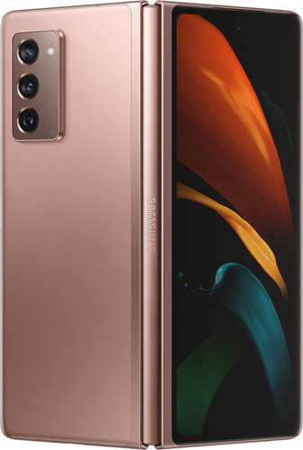 Samsung Galaxy Z Fold2 5G Mystic Bronze 256 GB, 12 MP, #ohne Branding (Neu, Differenzbesteuert)